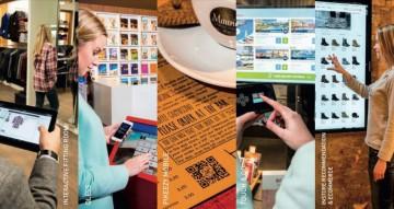 Bezoek aan Innovation Boulevard, shops van de toekomst in Antwerpen