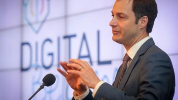 Europese commissie plaatst België in top vijf Europese 'Digital Economy & Society Index'