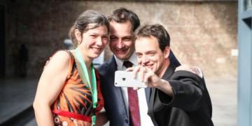 Jonge tech-ondernemers overhandigen Startup Manifesto aan Alexander De Croo